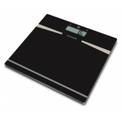SALTER Body Scales Glass Digital Weighs up to 180 kg Black Color S-9121 BK3R