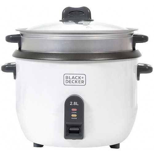 Black & Decker Automatic Rice Cooker 2.8L 1100 Watt RC2850