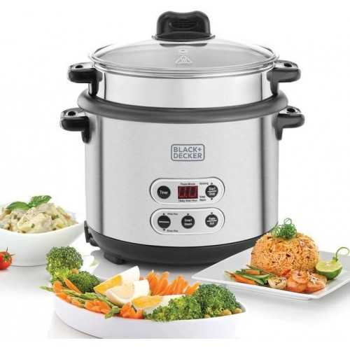 Black & Decker Automatic Rice and Pasta Cooker 1.8L 700 Watt RPC1800