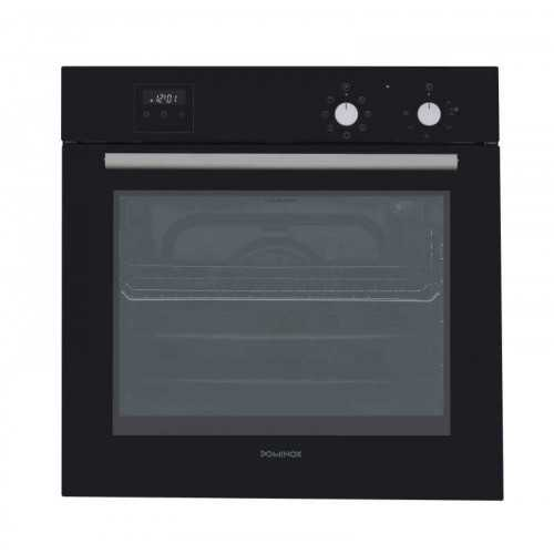 Dominox Built-In Electric Oven 60 cm With Fan Digital Black Glass DO 86 M NT BK FEN
