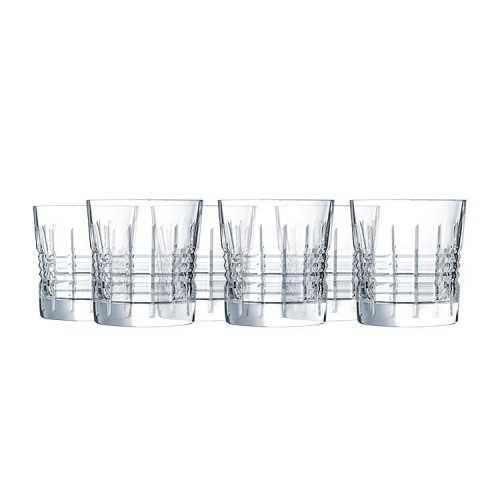 CRISTAL D'arques A set of cups 6 Pieces Crystal 32 cl L6630
