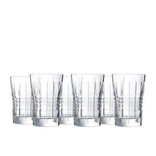 CRISTAL D'arques A set of cups 6 Pieces Crystal 36 cl L8237