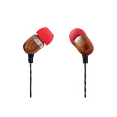 House of Marley SMILE JAMAICA HEADPHONES RED EM-JE041-FI