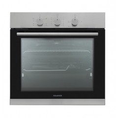 Dominox Built-In Gas Oven With Fan 60 cm Stainless DO 52 G XS