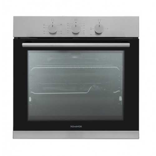 Dominox Built-In Gas Oven 60 cm With Fan Stainless DO 52 G XS