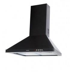 دومينوكس شفاط مطبخ هرمي 90 سم بقوة 420 متر مكعب في الساعة اسود DA 921 D BK
