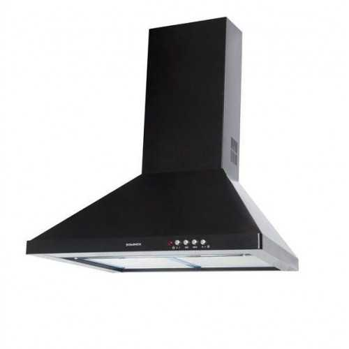 Dominox Kitchen Chimney Hood 90cm 420 m3/h Black DA 921 D BK