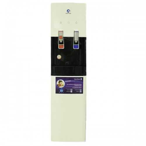 White Whale Water Dispenser 2 Spigots Cold/Hot With Fridge White*Black WDS-15200SR