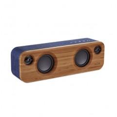 House of Marley Get Together Mini Bluetooth Speaker Blue EM-JA013-DN