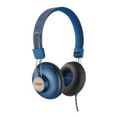 هاوس أوف مارلي سماعة رأس مزودة بسلك ازرق EM-JH121-DN
