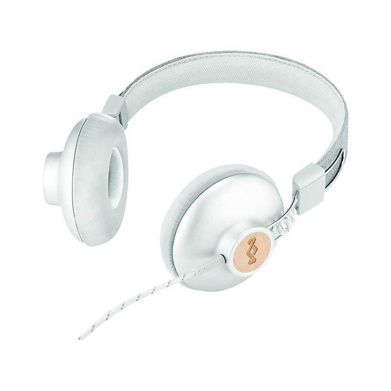 e412f92b9ae ... House of Marley POSITIVE VIBRATION 2 On Ear Headphone Silver EM-JH121-SV