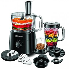 Black & Decker Food Processor 750 Watt 34 Functions FX775
