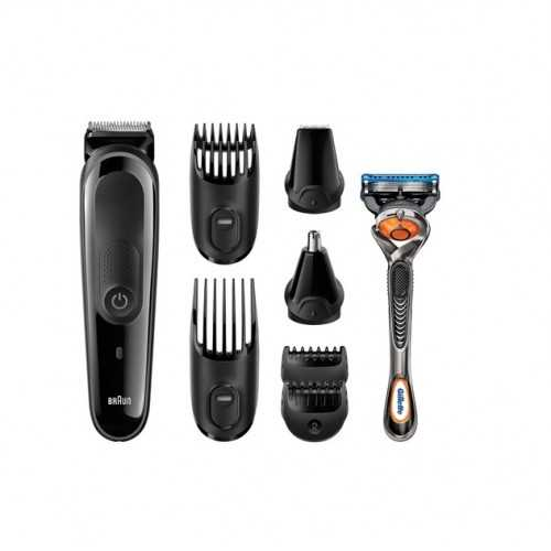 Braun multi grooming kit 8-in-one precision face and head trimming kit MGK3060