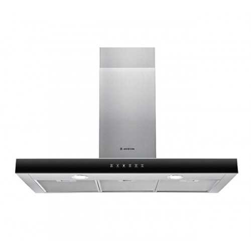 ARISTON Built In Chimney Hood 90 cm 735 m³/h Stainless Touch Control AHBS 9.7F LTI X
