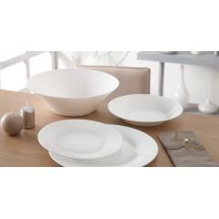Luminarc Alizee Perle Granite Dinner Set 25 Pieces White L6849