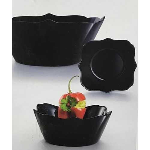 Luminarc Authentic Black Dinner Set 7 Pieces P1881
