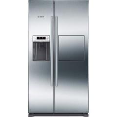 BOSCH Refrigerator 608 Liter Side By Side Water Dispenser Digital: KAG90AI20N