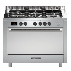 BOMPANI Cooker 60*100 cm 5 Burners With Fan Stainless Without Cover BO693SR/L