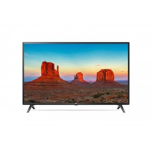 "LG 43"" LED TV Ultra HD 4K Smart WebOS With Built-In 4K Receiver And Gifts 43UK6300PVB"
