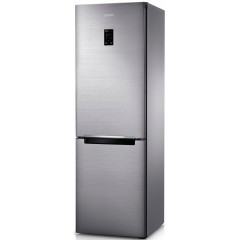 SAMSUNG Refrigerator 350 Liter Inverter Bottom Freezer Digital Silver RB33J3220SS/MR
