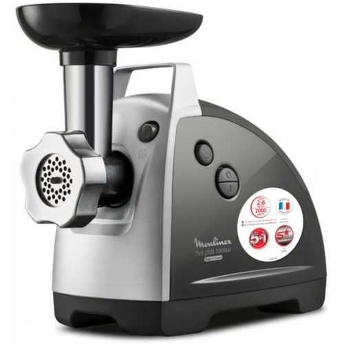 Moulinex Meat Mincer 5 In 1 2000W ME682826