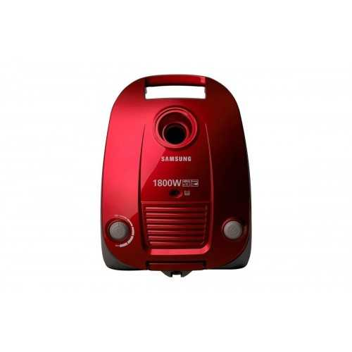 Samsung Bagged Vacuum Cleaner 1800 Watt Red VCC4170S37
