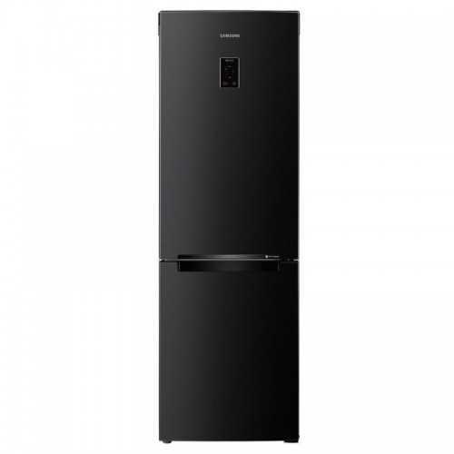 SAMSUNG Refrigerator 350 Liter Inverter Bottom Freezer Digital Black RB33J3230BC/MR