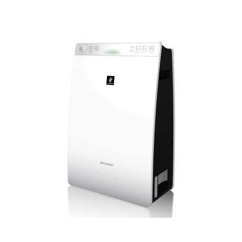 Sharp Air Purifier with Humidity , Plasma Cluster and HEPA Filter Covering Area 21m2 In White KC-F30SA-W