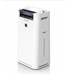 Sharp Air Purifier with Humidity,Plasma and HEPA Filter Covering Area 28 m2 White KC-G40SA-W
