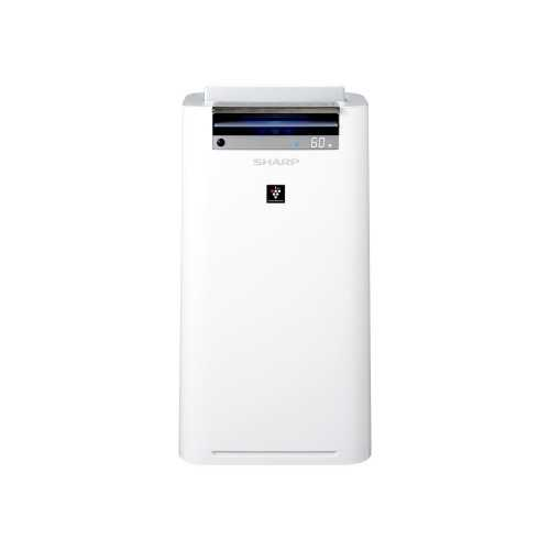 Sharp Air Purifier with Humidity,Plasma and HEPA Filter Covering Area 38 m2 White KC-G50SA-W