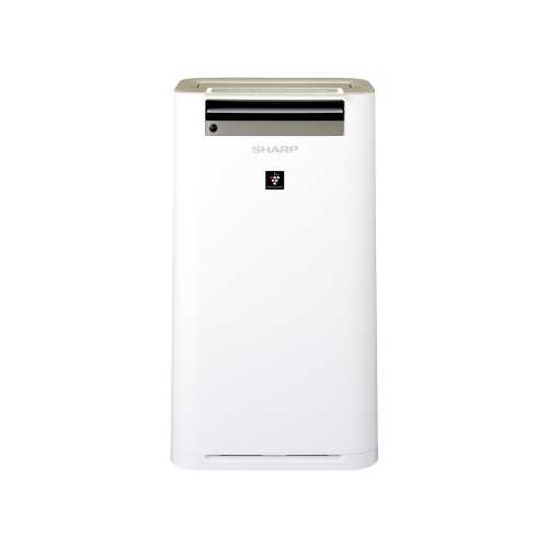 Sharp Air Purifier with Humidity,Plasma and HEPA Filter Covering Area 50 m2 White KC-G60SA-W