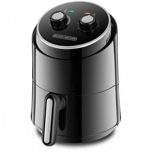 Black & Decker Air Fryer 500g 1230 Watt Black AF100