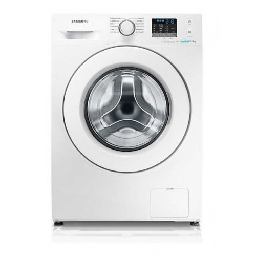 Samsung Washing Machine 8 KG 1200 Spin With Eco Bubble Technology: WF80F5EHW4X