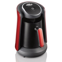 أرزوم أوكا مينيو ماكينة صنع القهوة التركية اسود*احمر OK 004-N