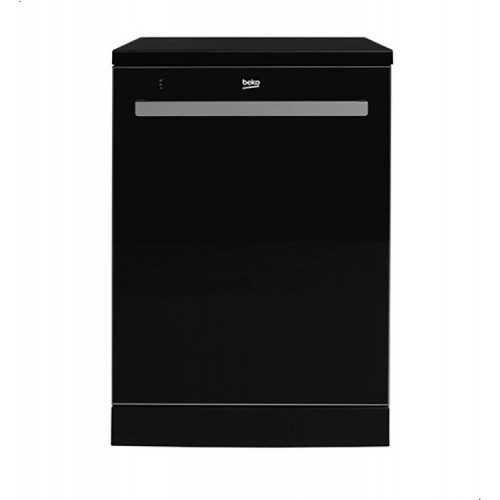 BEKO Dishwasher 60 cm 8 program 15 person Glass Black DEN48520GB