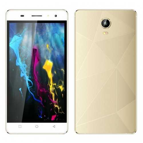 BAOKING Mobile Phone 5.5 Inch Touch Screen 3G Gold P20