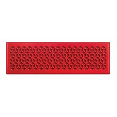 Creative Mini Portable Water-resistant Wireless Speaker Up to 10 Hours Red