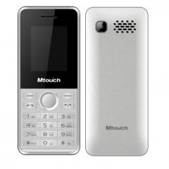 Mtouch Mobile Dual Sim memory up to 16GB Battery 1200mah Camera 0.08 MP White E20-W