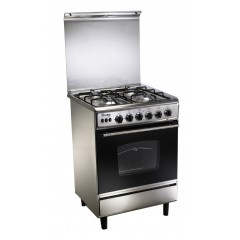 Union Tech 4 burner 60*60 Stainless: C6060SS-AP-447-L4