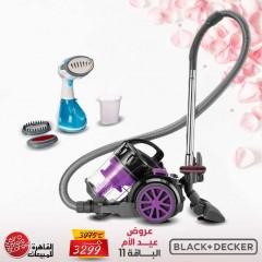 Black & Decker Vacuum Cleaner 1800 Watt and Handy Garment Steamer 1200 Watt MD Bundle11