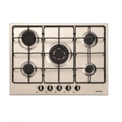 Dominox Built-In Hob 70 cm 5 Gas Burners Stainless DHX 5 4GAV TC XS FE