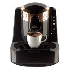أوكا ماكينة صنع القهوة التركي مزدوجة الاستخدام لون أسود مع ذهبيl OK-2G