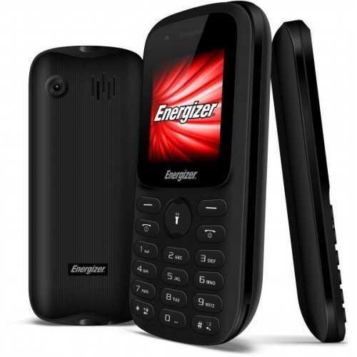 "Energizer Smartphone Feature Phone Black 1.8"" RAM 4MB Internal Storage 4MB Black E11"