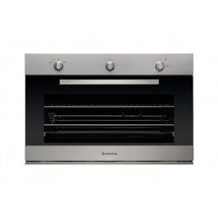 Ariston Gas Built-In Oven 90 cm 105 Liter with Gas Grill Stainless GM5 43 IX A