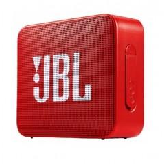 جاي بي إل سماعة ميني بلوتوث وايرلس محمولة احمر JBLGO2-R