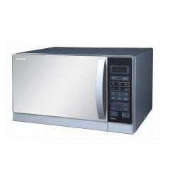 Sharp Microwave 25 Litre 900 Watt With Grill Silver R-750MR(S)