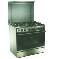 Union Tech i cook 5 burner Cast iron :C6090SS-AC-511-ID90*60