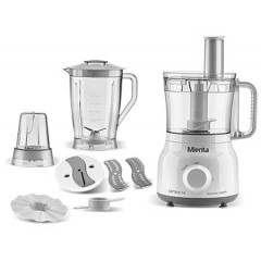 Mienta Optimum Food Processor 26 Functions 800 Watts White FP14922A