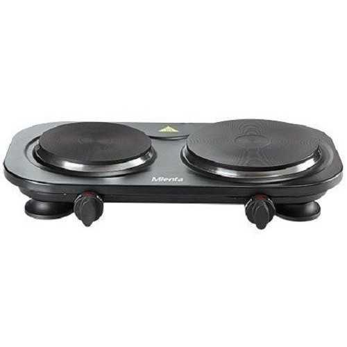 Mienta Hot Plate Travelmate 1500 Watt Black HP41125B