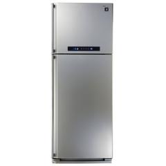 Sharp Refrigerator 384 Litre 2 door Digital With Plasma Cluster Silver Color: SJ-PC48A(SL)